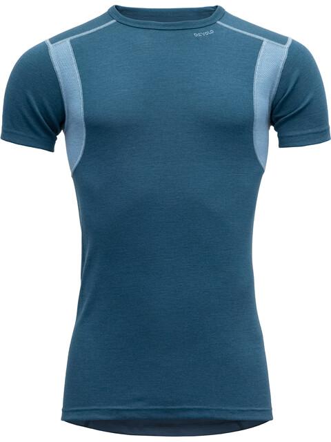 Devold Hiking t-shirt Heren blauw
